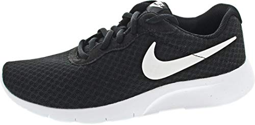 Nike Tanjun (GS), Walking Shoe, Nero Black Black Anthracite, 38 EU