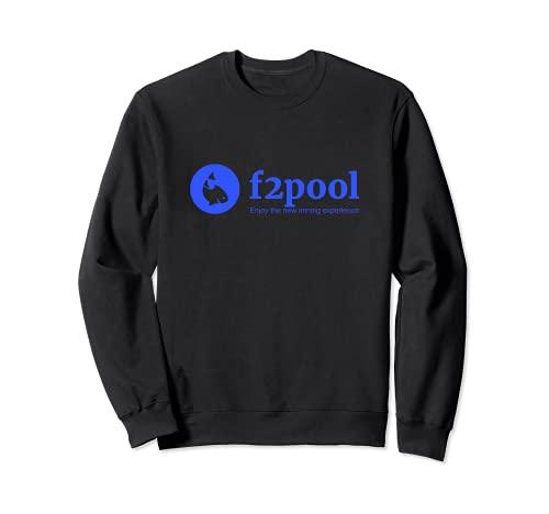 f2pool Bitcoin Ethereum piscina minera Crypto Sudadera