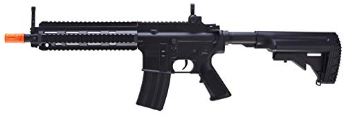 HK Heckler & Koch HK416 AEG 6mm BB Rifle Airsoft Gun, Black