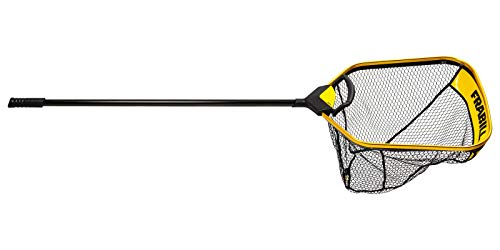Frabill Trophy Haul 2427 Fishing Net, Black and Gold (FRBNX24S)