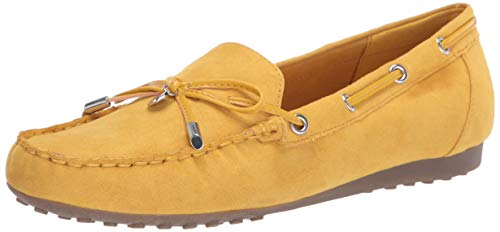 Bandolino Footwear Women's Victor Loafer, Yellow, 10.5