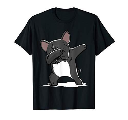 French Bulldog Dabbing T-Shirt Frenchie Dog Dab Dance Shirt