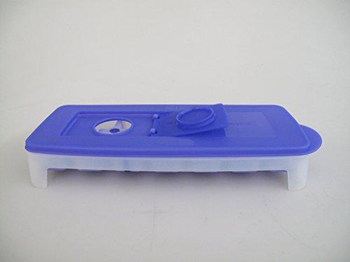 TUPPERWARE Gefrier-Behälter Eiswürfler lila-weiß Eiswürfelwunder G29 31089