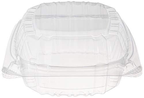 Dart Container Dart 5' Clear Hinged Plastic Food Take Out To-Go/Clamshell Container 100 Pack (pack of 100)