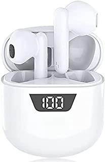 $37 » Sponsored Ad - Wireless Earbuds,Bluetooth 5.0 Earbuds Touch in-Ear Wireless Earphones,24 Hours Play Time with Charging Case