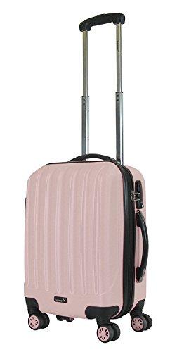 104 L 70 cm Packenger One World Valigia 102//1-111P-15 Rosa