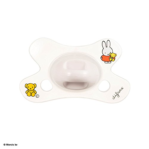 Difrax 8711736055609 Sucette - Natural - 0-6 Mois - Miffy