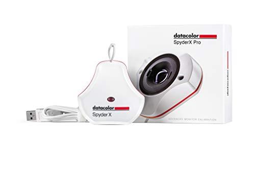 Datacolor SpyderX Pro - Calibrazione del Monitor Progettata per Fotografi e Designer (SXP100), Bianco