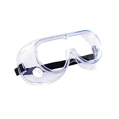 Anti-Fog Safety Goggles, Protective Safety Glasses, Soft Crystal Clear Eye Protection - Perfect for Construction, Shooting, Lab Work, and More (1 Pack)