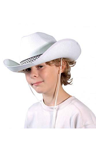 Palais De La Fete-cowboy Hat White Lucky Luke Children's Cap