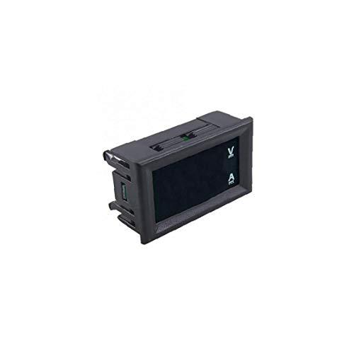 LAANCOO DC 100V 10A Voltmeter Blau Amperemeter mit roter LED-Ampere Dual Digital Voltmeter Meter DIY Werkzeug