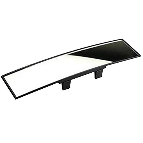 Espejo retrovisor de gran angular universal para automóvil, ajuste de ángulo de 300 mm Espejo retrovisor panorámico Espejo de punto ciego Espejo interior de automóvil antideslumbrante