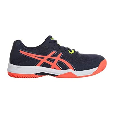 asics Gel, Running Shoe Hombre, Peacoat/Flash Coral, 42 EU