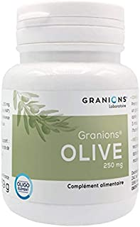 Granions Olive 250mg 60 Capsules Vegetable