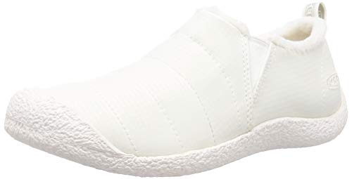 KEEN womens Howser 2 Casual Water Resistant Slide Hiking Shoe, Star White/Star White, 5 US