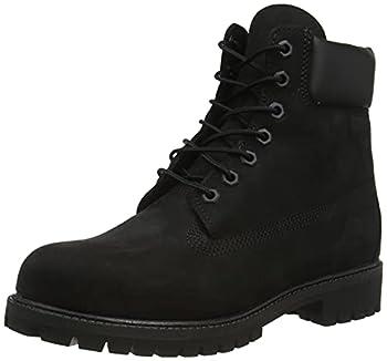 Timberland Men s 6 inch Premium Waterproof Boot Black Nubuck 11 W