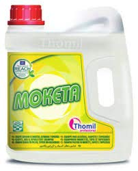 Thomil MOKETA CHAMPU Limpiador DE MOQUETAS, ALFOMBRAS Y TAPICERIA. Garrafa 4l