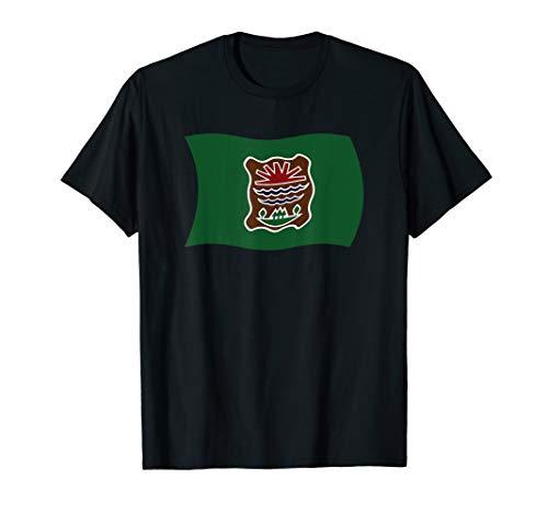 Wavy Flag of the Abenaki Tribe Native American T-Shirt