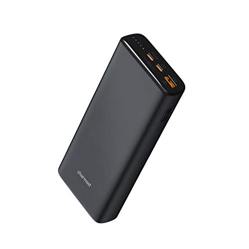 Charmast 23800mAh Batería Externa Portátil para Movil Powerbank Carga Rapida PD 65W Power Delivery USB C Cargador Portátil Quick Charge 3.0 Compatible con MacBook Pro, DELL XPS, Lenovo, Tablets y más