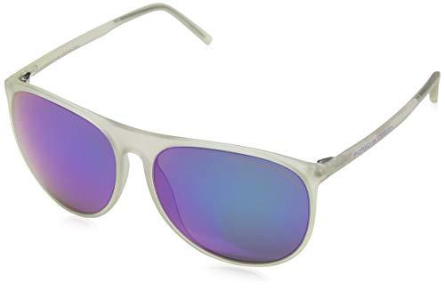 Porsche Design zonnebril P8596 A 58 15 140 ovaal zonnebril 58, wit