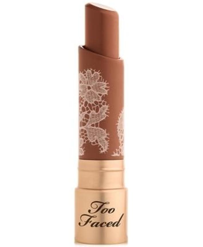 ショッピングセンター失速ストレスToo Faced Natural Nudes Intense Color Coconut Butter Lipstick Nip Slip