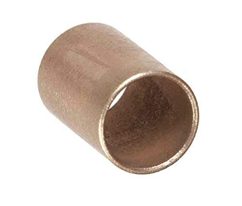 Isostatics 601092-2 AM-812-16 SAE841 Oilube Powdered Metal Bronze Sleeve Bearings/Bushings, Metric (Pack of 2)