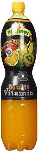 Pfanner Multivitamin Mehrfrucht A+C+E 12%, EINWEG PET (6 x 1.5 l)
