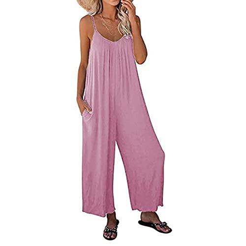 Pantalones Anchos De Pierna Ancha De Cintura Alta De Moda para Mujer Mono Camisola Estampada TeñIdo Anudado Mujeres