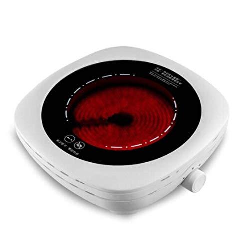 Estufa de cerámica eléctrica Estufa de ondas de onda de luz de la casa Pote de hierro cuadrado Coffee Tea Stuff 200-800W Tetera aplicable: pot pottware resistente a las temperaturas es más aislante /