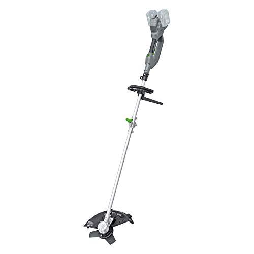 LUX-TOOLS A-FS-2x20/35 Akku-Freischneider mit klappbarem Aluminium-Schaft und einem Schnittkreis von max. 35 cm | 40V (2x 20V) Rasentrimmer mit Schneidmesser & Fadenkopf [ohne Akku/ohne Ladegerät]