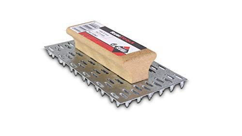 Rubi 65963 Rascador de mortero monocapa con mango de madera