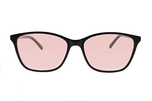 Axon Optics JURA - Migraine Glasses, Relief for Light Sensitivity, Photophobia, Fluorescent Lights (Brown, Indoor)
