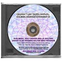 BMV Quantum Subliminal CD Golf Driving Skills: Golfing Driver Club Training Golfer Mind Program (Ultrasonic Subliminal Series)