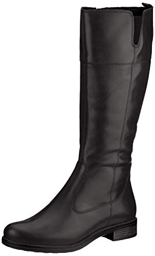 Tamaris Damen 1-1-25542-25 Kniehohe Stiefel, schwarz, 41 EU