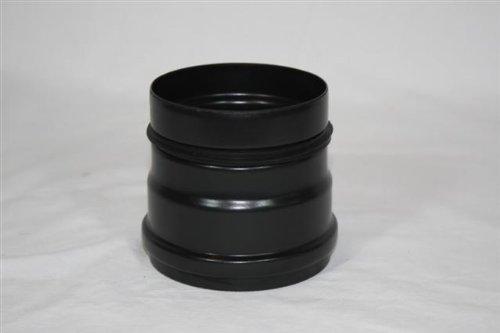 Rauchrohr, Ofenrohr Pellet Ofenanschluss mit Dichtung 100 ø 0,6mm stark