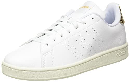 adidas Advantage, Scarpe da Tennis Donna, Ftwr White/Ftwr White/White Tint, 42 2/3 EU