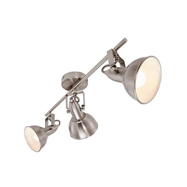 Briloner-Leuchten-2049-032-A-to-E-Deckenlampe-mit-3-dreh-und-schwenkbaren-Spots-im-retro-vintage-Design-40-W-Metall-E14-Satin-Wei-554-x-10-x-181-cm
