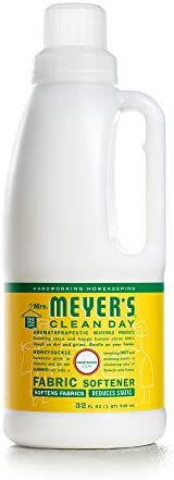 Mrs. Meyer's Clean Day Liquid Fabric Softener, Made Without Parabens, Cruelty Free Formula, Lavender Scent, 32 oz