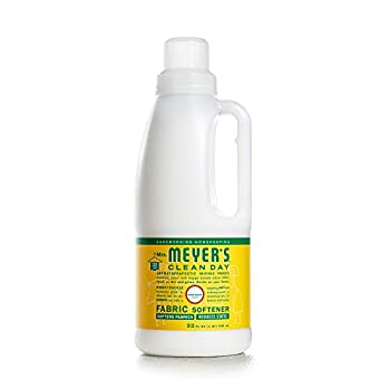 Mrs Meyer's Clean Day Liquid Fabric Softener Made Without Parabens Cruelty Free Formula Honeysuckle Scent 32 oz  32 Loads
