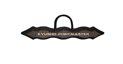 Kubotan - Kyusho Pointmaster - Selbstverteidigungsstock - Palm Stick - Tactical Pen - Braun
