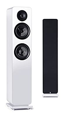 Roth Audio OLI RA3 2-Way Pair Of Floor Standing Tower Speakers Finished in White from Roth Audio