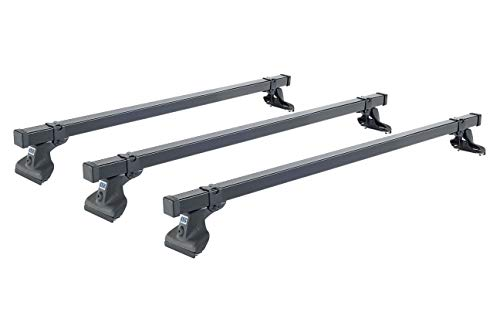 Cruz 923–210 Commercial Stahl Dach Bar Rack, Set von 3