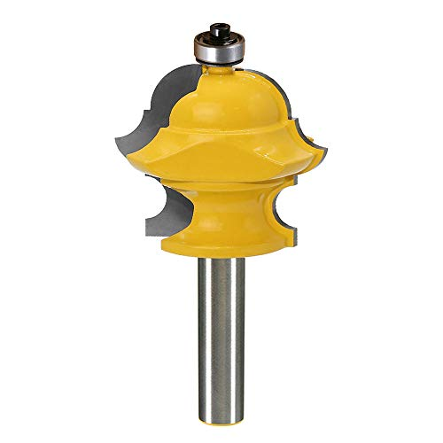 Yakamoz 1/2 Inch Shank Magical Multi-Form Molding Router Bit Multi-Profile Milling Cutter Woodworking Tool | Bullnose, Round Over, Cove, Ogee Multi-Form All in One Design