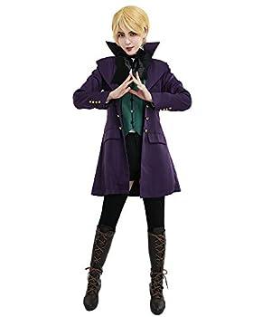 miccostumes Women s Alois Trancy Cosplay Costume  Women L Purple