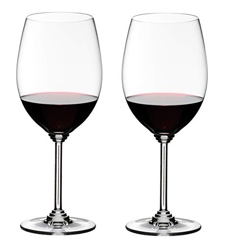 Riedel Wine Series Cabernet/Merlot Glass, Set of 2, Clear - 6448/0