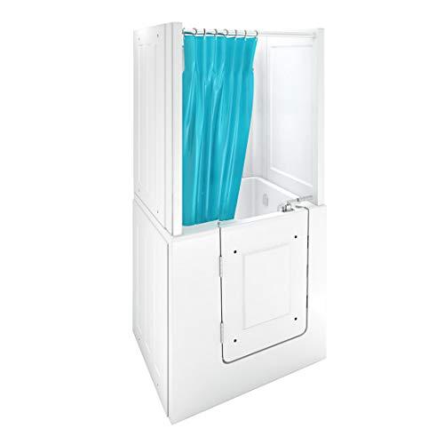 Senioren Dusche Sitzbadewanne Sitzwanne Badewanne mit Tür Pool A102D-C