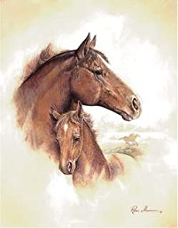 4 Horse Art Prints Mare Pictures Foal Posters Home Decor Interiors