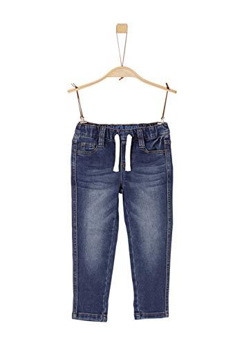 s.Oliver Junior Jungen 74.899.71.0513 Slim Jeans, Blue Denim Stretch, 92