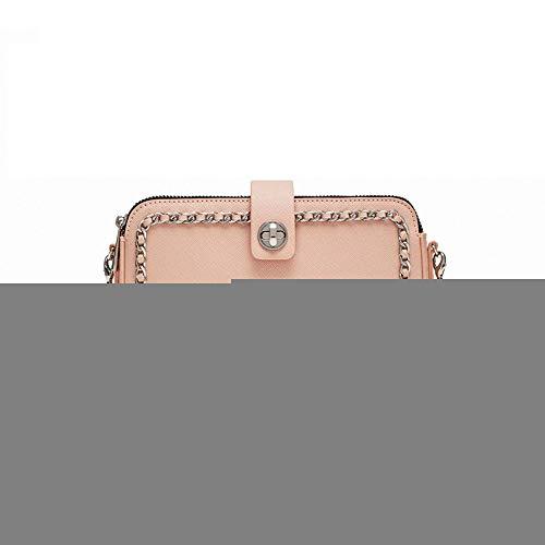 Frühling und Sommer Neue Frauen Tasche Reißverschluss Messenger kleine quadratische Geldbörse Mode einfache Tasche weibliche Atem Schulter