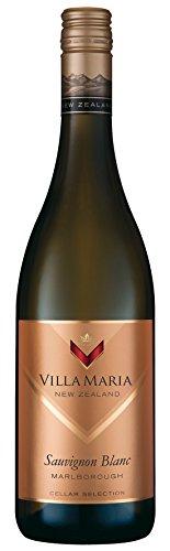 6x 0,75l - 2018er - Villa Maria - Cellar Selection - Sauvignon Blanc - Marlborough - Neuseeland - Weißwein trocken